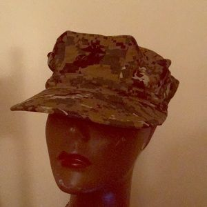 Accessories - USMC  Utility, Cap  medium